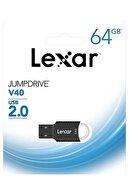 Lexar V40 64gb 2.0 Jump Flash Bellek