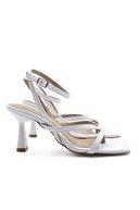 Marjin Kadın Parmak Arası Topuklu Sandalet Bitebeyaz