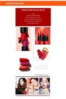 Missha Yoğun Pigmentli Besleyici Kadife Dokulu Mat Ruj Dare Rouge (Velvet/No.28 Off the red)
