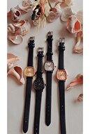 Ricardo 60 Dakika Saat & Retro Minimal Deri Kordon Kadın Kol Saati - Gümüş