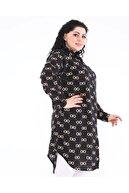 LBB FASHİON Kadın Büyük Beden Tunik Gömlek