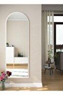 rivomo Beyaz Dekoratif Boy Aynası 150x50 cm