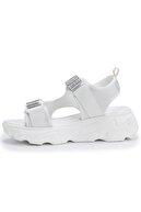 OZ DOROTHY Ozdorothy Kalın Taban Beyaz Kadın Sandalet