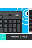 logitech MK295 Kablosuz Klavye ve Mouse Set Siyah 920-009804