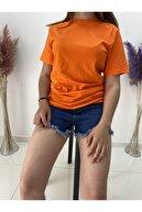 Cecilia Kadın Turuncu Tshirt