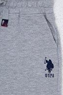 US Polo Assn Grı Erkek Çocuk Şort & Bermuda