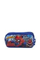 Hakan Çanta Lisanslı Örümcek Adam Karakterli Çift Gözlü Kalemlik Kutusu