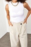 Xena Kadın Beyaz Hakim Yaka Kaşkorse Bluz  1YZK2-11711-01