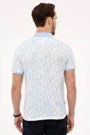 Pierre Cardin Mavi Slim Fit Polo Yaka T-Shirt