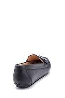 Derimod Kadın Deri Zincir Detaylı Loafer Ayakkabı
