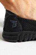 Tonny Black Unisex Siyah Spor Ayakkabı Tb996