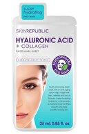 Skin Republic Hyaluronic Acid+collagen Maske 25 Ml