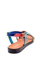 Derimod Kadın Renkli Deri Sandalet