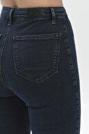 CROSS JEANS Janie Koyu Taş İndigo Yüksek Bel Skinny Fit Cepsiz Jean Pantolon C 4520-021