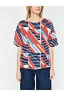 Koton Kadın Desenli Bluz