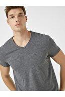 Koton Erkek Gri T-Shirt