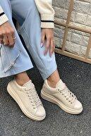İnan Ayakkabı Unisex Delik Detaylı Parçalı Sneaker
