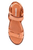 Derimod Kadın Kahverengi Bantlı Sandalet
