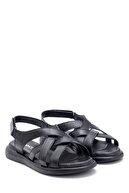 Derimod Kadın Deri Bantlı Sandalet