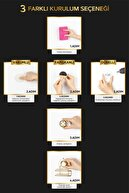 Okyanus Home Gold Serisi Lux Wc Kağıtlık 3 Fonksiyonlu - Ister Vakumla, Ister Yapıştır, Ister Vidala