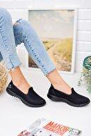 meyra'nın ayakkabıları Siyah Fileli Sneaker
