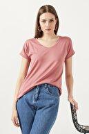 Lela V Yaka Bluz Kadın Bluz 5862000