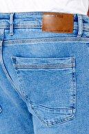 DAMGA JEANS Erkek Slim Fit Jean Pantolon Açık Mavi