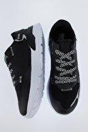 Defacto Erkek Siyah Bağcıklı Spor Ayakkabı