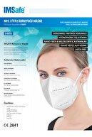 IMSafe N95 Cerrahi Maske 5 Katlı Iso Belgeli 5 Adet Paketli Ürün