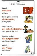 MK Publications Almanca Kelime Kartları Seti Zincirli ( Isimler Fiiller )
