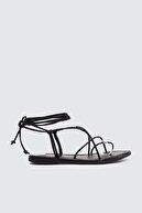 Trendyol Shoes Siyah Kadın Sandalet TAKSS21SD0027