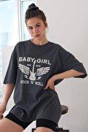 Addax Oversize T-shirt P9542 - N9