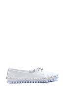 Derimod Kadın Beyaz Deri Casual Ayakkabı