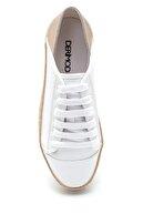 Derimod Kadın Hasır Detaylı Sneaker