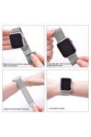 Apple Microsonic Watch 4 44mm Milanese Loop Version 3 Gri Kordon