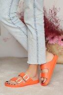Pembe Potin Kadın Orange Sandalet