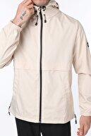 Ghassy Co Erkek Taş Rüzgarlık/Yağmurluk Outdoor Yırtmaç Detaylı Mevsimlik Spor Ceket