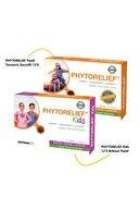 Phytorelief-CC Phytorelief Pastil Turmeric Zencefil 12'li Ve Kids 12'li Bitkisel Pastil Kofre