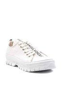 Bambi Beyaz Kadın Sneaker K01530110618