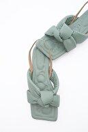 Marjin Kadın Yeşil Sandalet
