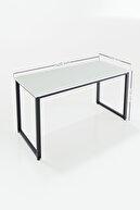 Ceramical Çalışma Masası Bilgisayar Masası Ofis Masası 60x140 cm Beyaz
