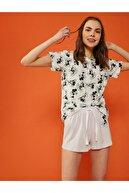 Koton Kadın Lila Pijama Takımı