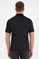 Pierre Cardin Siyah Regular Fit Polo Yaka T-Shirt