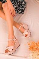 Soho Exclusive Ten Kadın Dolgu Topuklu Ayakkabı 16259