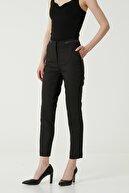 Network Kadın Basic Fit Siyah Pantolon 1079587