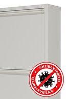 Ceha Antibakteriyel 4'lü Metal Ayakkabılık - Beyaz