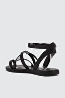 Trendyol Shoes Siyah Kadın Sandalet TAKSS21SD0010
