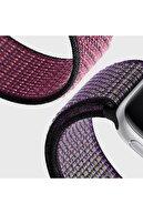 Microsonic Microsonic Watch Series 6 44mm Hasırlı Kordon Woven Sport Loop Turuncu