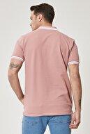 Altınyıldız Classics Erkek Gül Kurusu Slim Fit Dar Kesim %100 Koton Polo Yaka Tişört