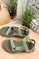 Fox Shoes Kumaş Kadın Cırtlı Trekking Sandalet K838862504